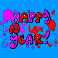 Happy New Year Sign - Haven Bunch, 7