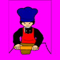 cooking - leah, 8