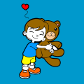 i love my teddy - julessa, 10