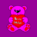 be my valintinesday bear - georgia, 8