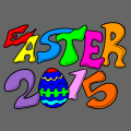 happy easter 2015 - haidee faulconer, 8