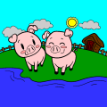 Cute Pigs - sharfa, 12