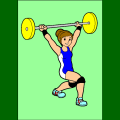 Weight lifter - Vic, 61