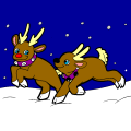 Reindeer for Sisi - Brice, 12