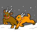 Rudolph & His Little Brother - Madison, 14
