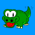 alli the alligator - ivy, 9