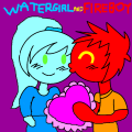 Fireboy And Watergirl Love - WatergirlAndHisFriends, 2