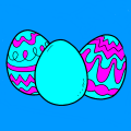 Easter Eggs - Alicia, 8