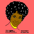 whitney houston - may, 8