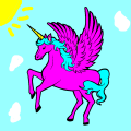 Alicorn Pinkie Pie - Briana, 8