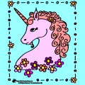 Pretty Pink Unicorn - Alex, 10