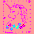 Unicorn and Flowers - Munchi, 21