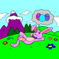 Easterbunny Purple Mountain Majesties - Alex, 10