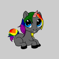 rainbow unicorn - jaydyn, 12