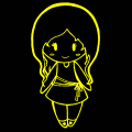 Glowing Girl - A, 11