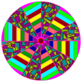 stained class wheel - Betty, 53