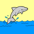Water - Dolphin, 100