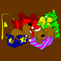 santa knows when your sleeping - izzyli, 10