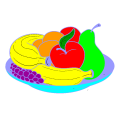 fruit bowl 1 - melanie, 7