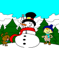 Frosty the snowman - Kylie, 9