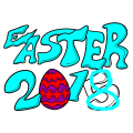 happy easter 2018 - hallie, 7