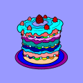 a wonderful yummmy cake - ashlynn, 18