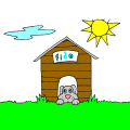 Lilah - cute dog house, 9