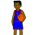 Basketball Player - KD, 14