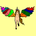 rainbow unicorn - radiya, 10