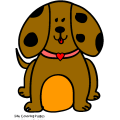 browny the brown puppy - Regan, 8