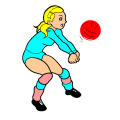 volleyball player - the artist, 9