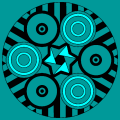 mandala patterns circles strips and star - jo, 71