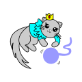 cute kitty - princess, 10