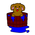 PUPPY IN A BASKET - KIRA FISHER, 8