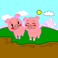 happy piggies - Rebeccca, 10