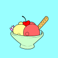 ice cream bowl - n., 15