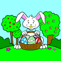 Easter rabit color - MB, 9