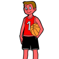 The basketball playr - yeet man, 8