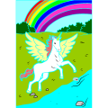 pretty unicorn - By:unicorn rainbow,, 7