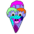 Ice Cream Cone Man - Ryan, 3