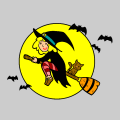 witch - chica, 10